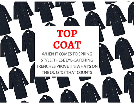 LOOKS TO LOVE — Introducing Spring's New Trench Coats