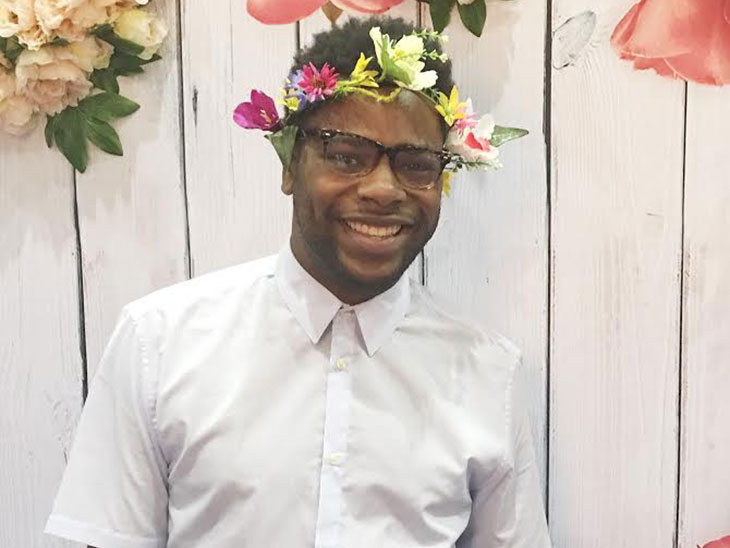 My question-answering secret weapon: a Snapchat-inspired flower crown.