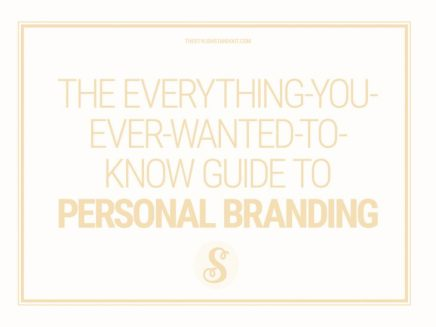 THE EVERYTHING-YOU-EVER-WANTED-TO-KNOW GUIDE TO PERSONALBRANDING